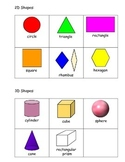 2D & 3D Shapes Flashcards