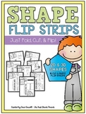 2D & 3D Shapes Flip Strips