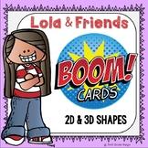 2D & 3D Shapes (Geometry) Boom Cards Digital Resource