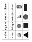 2D & 3D Shapes Memory