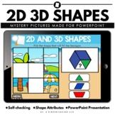 2D 3D Shape Game Interactive