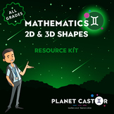 2D & 3D Shapes Kit | A Wide Collection of Transferable Sha