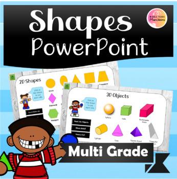 2D & 3D Shapes Recite Powerpoint