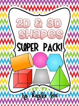 2D & 3D Shapes SUPER PACK!