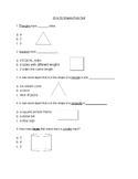 2D/3D Shapes Test (Special Education)