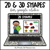 2D & 3D Shapes for Google Slides | Distance Learning