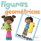 Shapes in Spanish Posters Figuras Geométricas