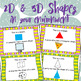 2D & 3D Shapes in your environment