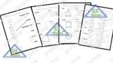 2D & 3D Shapes worksheets  (English)