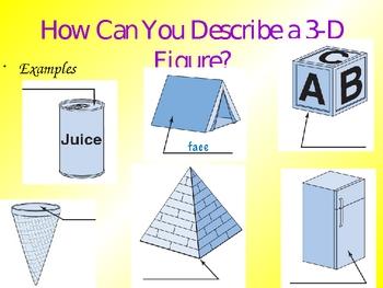 2D 3D Triangles and Quadrilaterals
