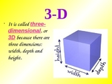2D 3D Triangles and Quadrilaterals