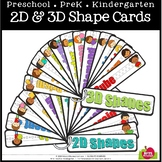 2D AND 3D SHAPE RING CARDS