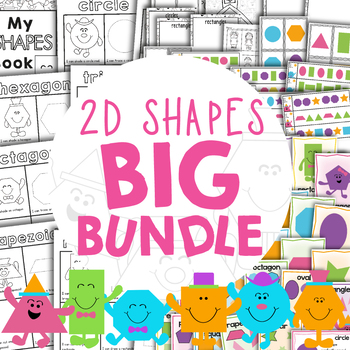 2D Shapes Big Bundle