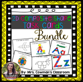 2D Composite Shape Task Card Bundle