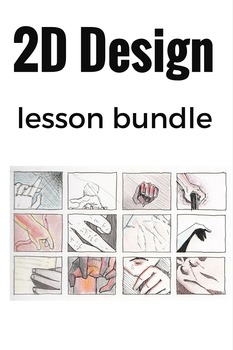 2D Design Lesson/ Rubric Package