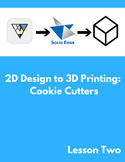 2D Design to 3D Printing: Cookie Cutters