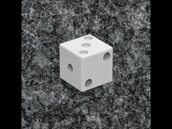 2D Design to 3D Printing: Dice