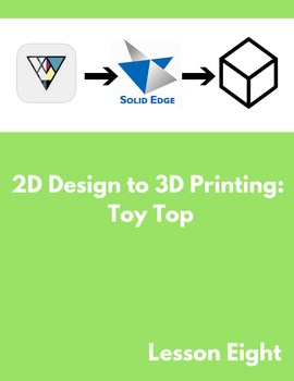 2D Design to 3D Printing: Toy Top