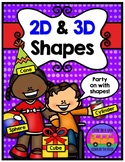 2D FLAT and 3D SOLID SHAPES