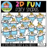 2D FUN Fairy Shapes (P4 Clips Trioriginals) SHAPE CLIPART