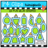 2D FUN Glue Bottles (P4 Clips Trioriginals)