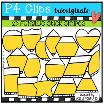 2D FUN Glue Sticks (P4 Clips Trioriginals)