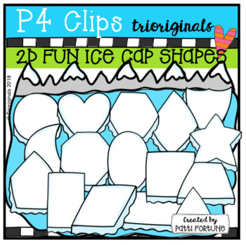2D FUN Ice Cap Shapes (P4 Clips Trioriginals)