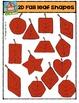 2D Fall Leaf Shapes {P4 Clips Trioriginals Digital Clip Art}