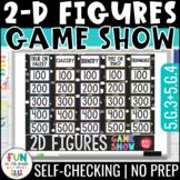 2D Figures Game Show 5th Grade | 2D Shapes Review | Distan