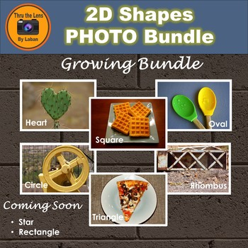 2D Geometry Shapes Stock Photo Growing Bundle