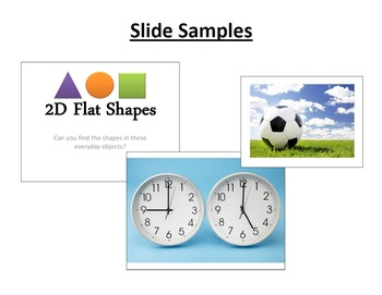 2D Flat and 3D Solid Shapes Pack