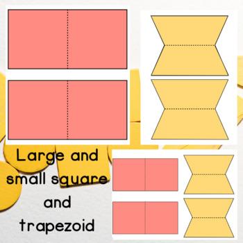 2D Shapes Foldable Templates