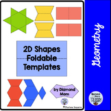 2D Shapes Foldable Templates