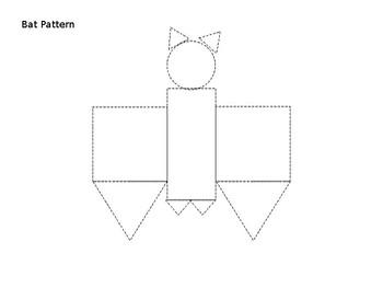2D Geometric Shape Bat