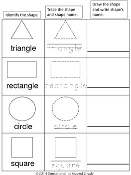 2D Geometric Shapes