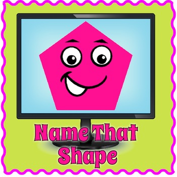 Smartboard Shapes Game | Interactive Shapes Activity