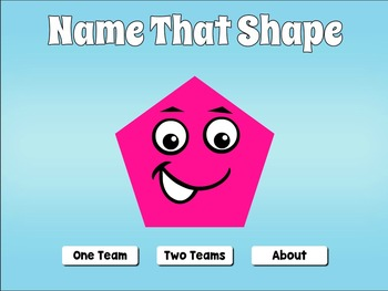Interactive Geometric Shapes Game