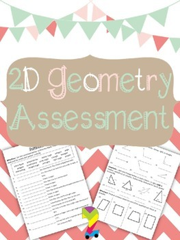 2D Geometry Assessment and Study Guide