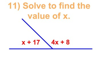 2D Geometry Bingo