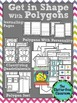 Geometry Activities Games and Centers for 2D Shapes and Polygons 2nd 3rd grade