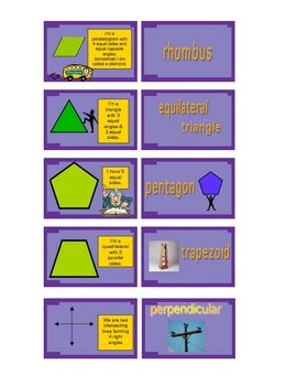 2D Geometry Concentration GAME