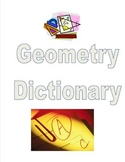 2D Geometry Dictionary