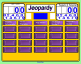 2D Geometry Jeopardy
