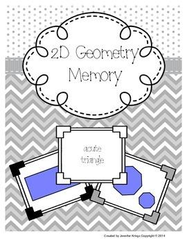 2D Geometry Memory