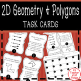 2D Geometry (Polygons) Task Cards SOL 3.11 3.12 3.13