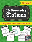 2D Geometry Review Stations