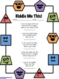 2D Geometry Riddles for Kids