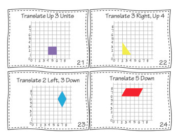 2D Geometry Task Cards Bundle Volume 1