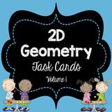 2D Geometry Task Cards Bundle Volume 1