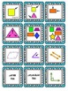 2D Geometry Vocabulary Cards & Game Cards 3.G.1, 2.G.1, 1.